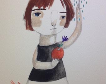 Rain for my apple
