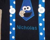 Remake of cookie monster shirt