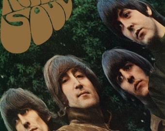The Beatles Rubber Soul Album Audio Music CD 1987 Vintage