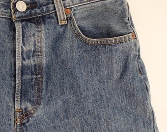 Levis 501 Vintage Shorts Denim
