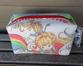 Rainbow Brite Zipper Pouch Recycled