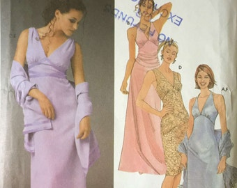 Simplicity 5187 Sewing Pattern,Ladies Summer/Evening Dresses 12, 14, 16, 18