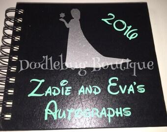 Elsa Disney Autograph book