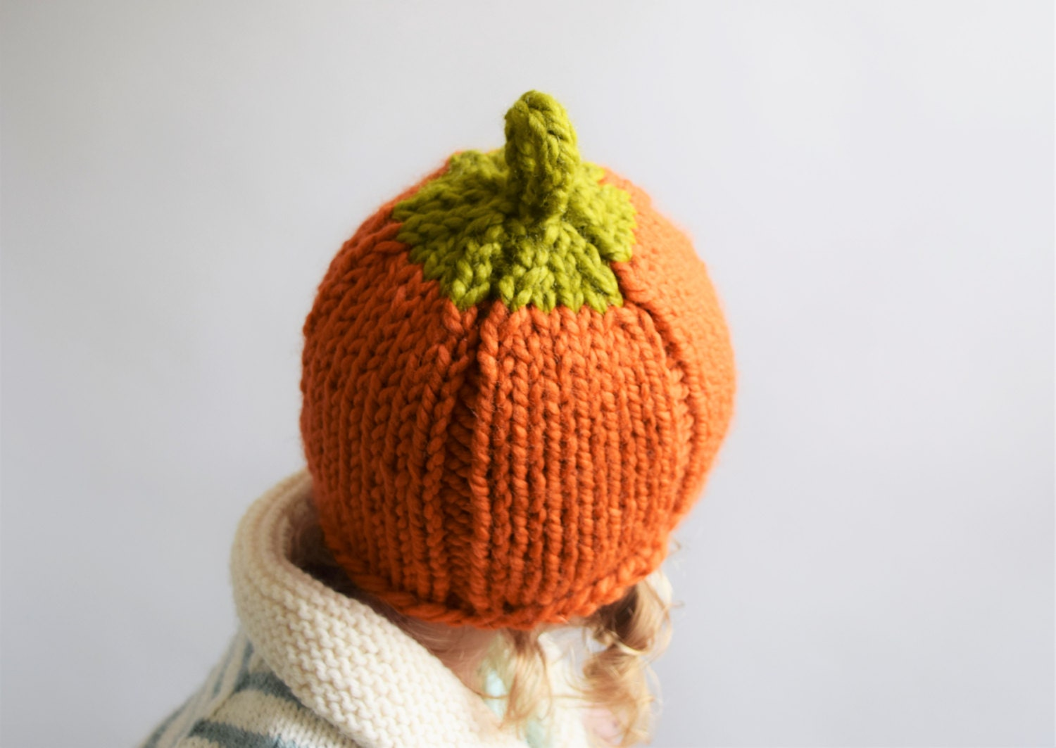 Pumpkin Hat Knitting Pattern
