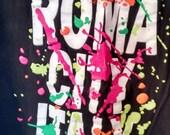 SALE women's Rome tshirt Roma Italy souvenir XXL boho 90s nineties grunge