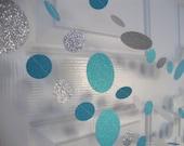 Frozen-inspired glitter garland 6-foot strands