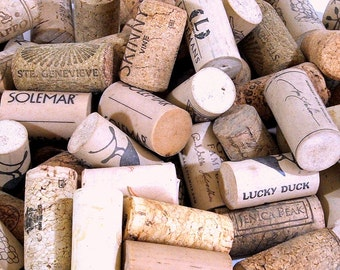 Wine Corks for Crafting, 70+ Used Natural and Synthetic Corks