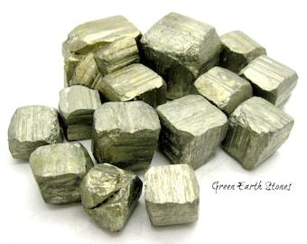 Natural Pyrite Cube, Rock Hound, Crystal Healing, Fools Gold, Rocks, Minerals,