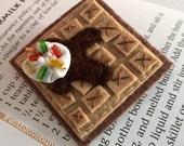 Waffle Brooch - Syrup & Sprinkles - Hooray for Breakfast