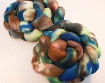 Fjord: The Nordic Series - Hand Dyed Organic Polwarth Top 4oz