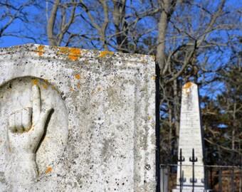 Path to Heaven - Fine Art Photograph, Cemetery, Truro, Cape Cod