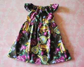 ON SALE! Oh, Mandy (brown) nelle dress, size 12mos.-8 girls