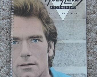 Huey Lewis Notebook