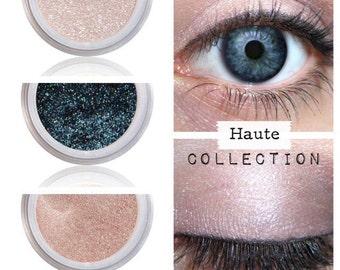 Eyeshadow Kit - Neutral Smokey - Mineral Makeup Eyeshadow - Eye Shadow Kits Palettes - Natural MAC Cosmetics - Eye Makeup Sets - Vegan