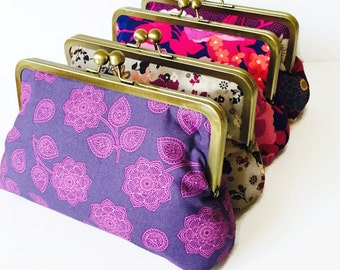 Bridesmaid gift bag - You choose fabrics - Gifts Designed by You for your Wedding Party
