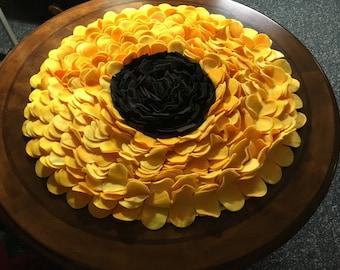 Sunflower Fleece Rug