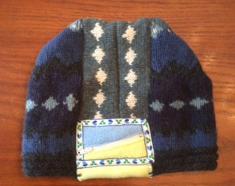 Wool Sweater Hat- Adult