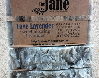Love Lavender Soap - Hot Process Soap - Essential Oil - Vegan