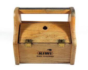 Vintage Kiwi Shoe Groomer Box