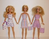3  CUTE outfits 4 barbie model muse, barbie basics, fashionistas. Handmade barbie clothes