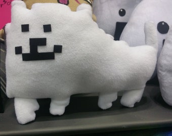 ANNOYING DOG PLUSH Inspired by Toby Undertale squeaky