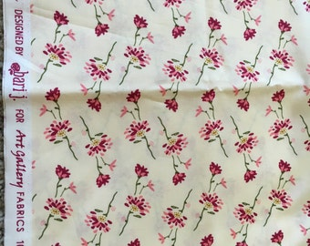 FREE ship to US only: Emmy Grace by Art Gallery Fabrics, 1 yard, unwashed