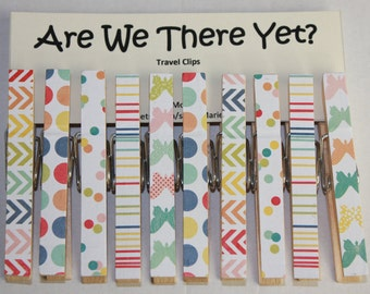 Are We There Yet? Travel Clips   ***Free Shipping***