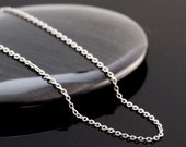 Stainless Steel Cable Chain 0.5mm - By the Foot or Finished