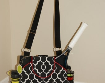 Little Sister Bag to Large tennis Bag with Rounded pockets.