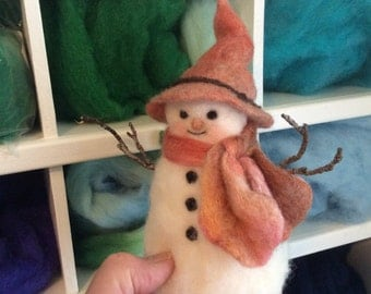 Bundled Up Snowman For Winter Decorating Fun