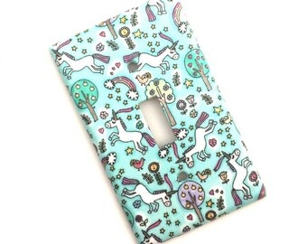Unicorn Light Switch Plate Cover