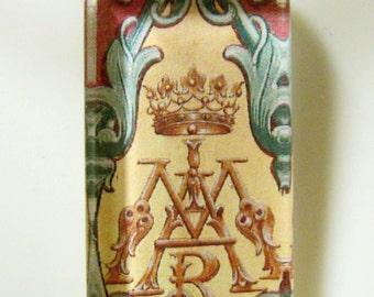Marian symbol pendant with chain - GP12-258