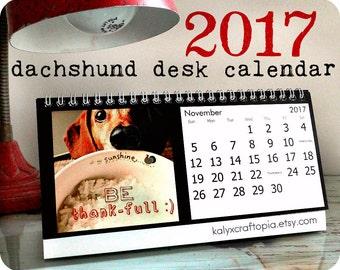 2017 Dachshund CALENDAR