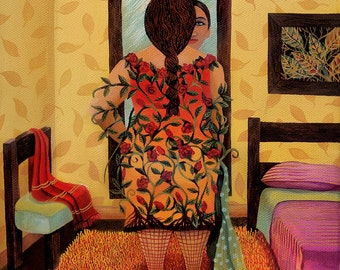 Living Dress (Original painting SOLD) - print available