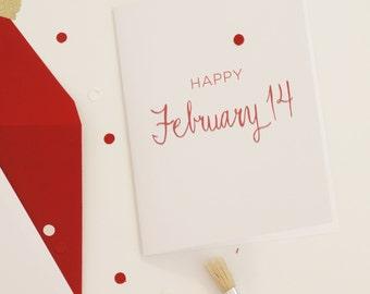 Funny Valentine, Anti-Valentine, Valentine's Day Card, Funny Valentine's Day Card, Friend Valentine, Platonic Valentine, Anti Valentine Card