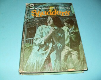 Ten Tales to give you Shudders 1972 Vintage - Whitman Collectible Book Art Illustrated Mystery Spooky Tales