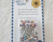 New Pearlized Straight Pins - 120ct