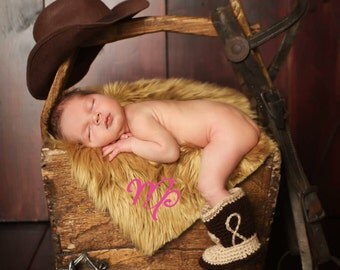 Baby Photo Prop - Baby Cowboy Boots - Baby Boots - Baby Cowboy Boots - Baby Boy Boots - Girl Boots - Girl Baby Boots - Boy Baby Boots