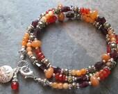 Reserved Listing for Anny ~ Multi Gemstone Bracelet