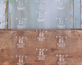 Mini Moose Chocolate Mold, Mini Moose Candy Molds, Moose Candy Molds, Chocolate Candy Molds, Candy Moulds, Maine Chocolate Moulds