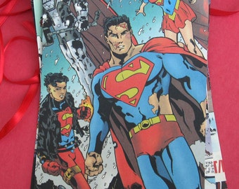 Recycled Comic Book Page Banner