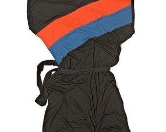 Winter Sale 15% Off!!! Color Splash in black - best seller jersey dress in black