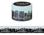 New York Japanese Washi Tape • City Masté Masking Tape (MST-MKT65-A)