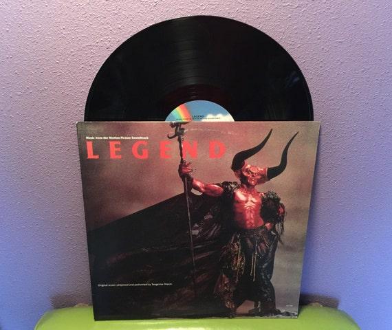 Rare Vinyl Record Legend Original Soundtrack Lp 1985 Tangerine