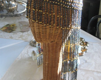 Fabulous 20's Beaded Headdress/Cleopatra Headdress/Costume Headdress