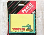 Vintage Post-It Office Humor 1990 Cartoon Alligator