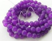 110 Purple glass beads B60