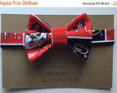 ON SALE UGA Bulldogs Black and Red Soft Velcro Bow Tie for Infants, Toddlers & Dogs 230777532