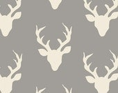 SuperBowl Sale Hello Bear by Art Gallery Fabrics- Buck Forest Mist (HBR-4434) 1/2 Yard