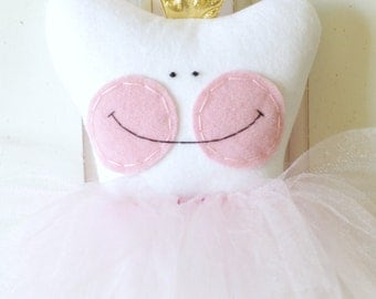 Princess Tooth Fairy Pillow (with pocket)